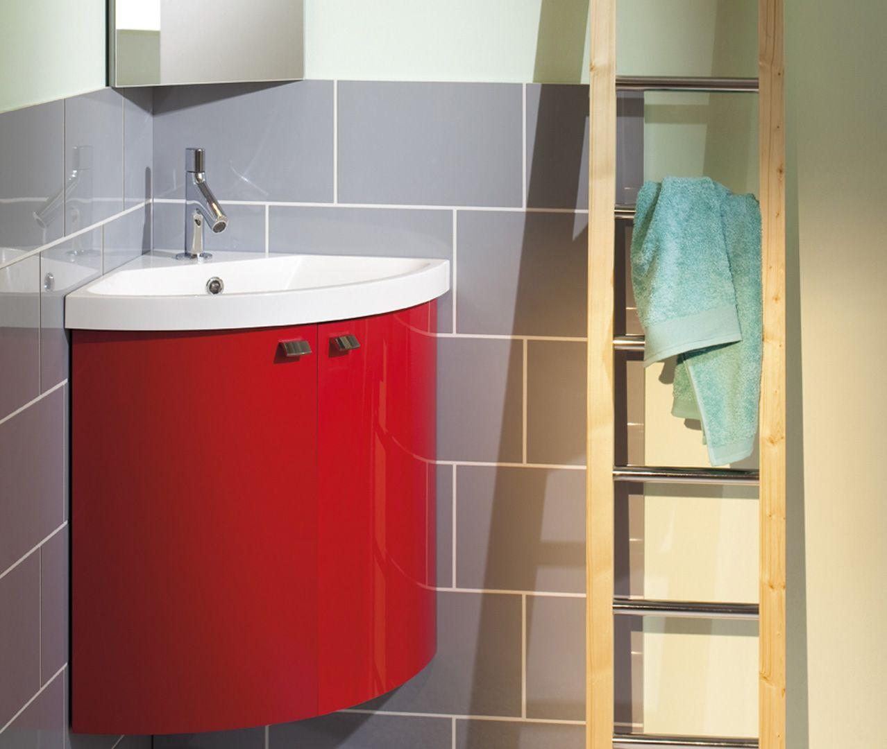 Meuble Salle De Bain Sanijura Xs ~ lave mains meuble d angle laqu pop sanijura deco toilettes