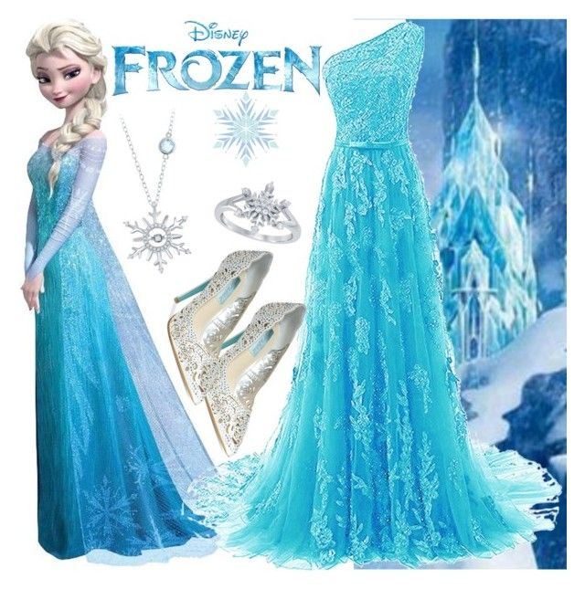 Frozen: Elsa by chey-love on Polyvore featuring polyvore fashion ...