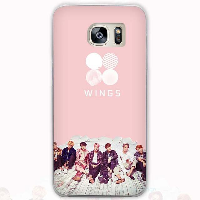 sports shoes 88751 9d376 50% OFF] Kpop BTS Bangtan Boys 'WINGS' Logo & Cute Fan Art Phone ...