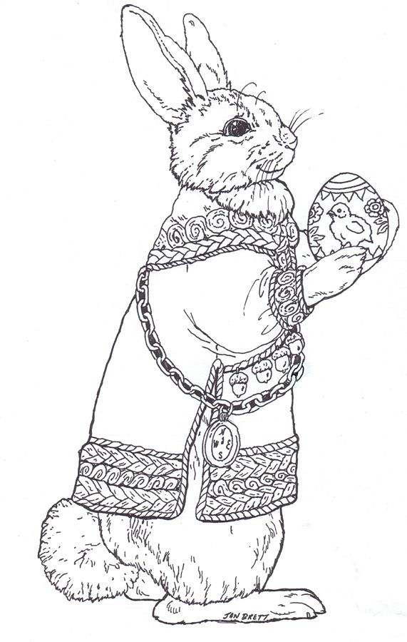Bunny Coloring Page Animal Coloring Pages Bunny Coloring Pages Coloring Pages