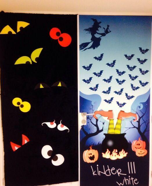 Aquí algunas ideas de puertas con motivos de halloween Articulos