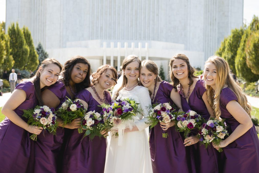Newseum Wedding Bridesmaid Purple Bridesmaid Dresses Wedding Bridesmaids