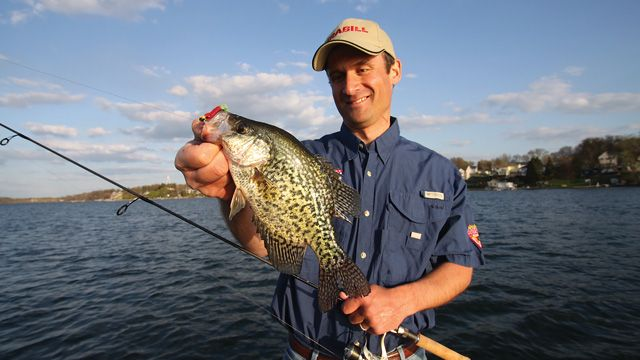 Of all the factors determining crappie location and ...