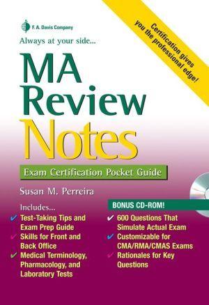 Ma Review Notes Exam Certification Pocket Guide Exam Guide Exam Career Advancement