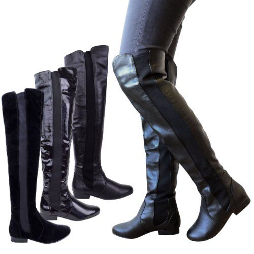 Wide Calf Thigh High Boots
