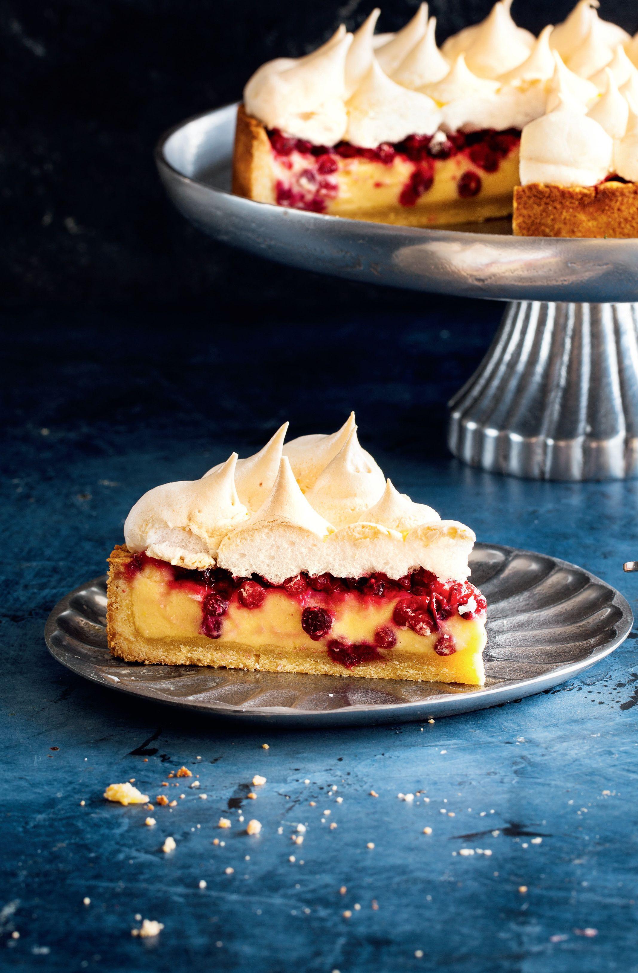 Пирог со смородиной и меренгой | Рецепт | Идеи для блюд ...