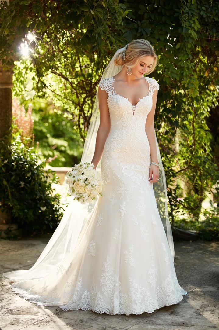 Regina With Images Lace Weddings Wedding Dresses Essense Of Australia Wedding Dresses