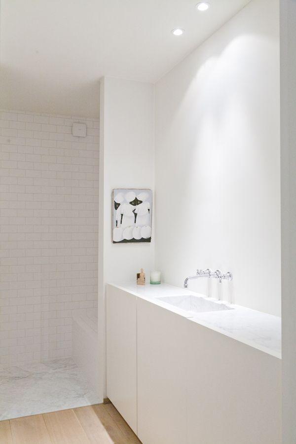 Annemarie Van Riet Belgium Light Timber Floor Marble White Tiles