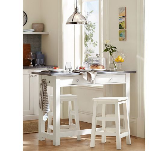 Balboa Counter Height Table U0026 Stools | Pottery Barn · Decorating Small  RoomsSmall ...