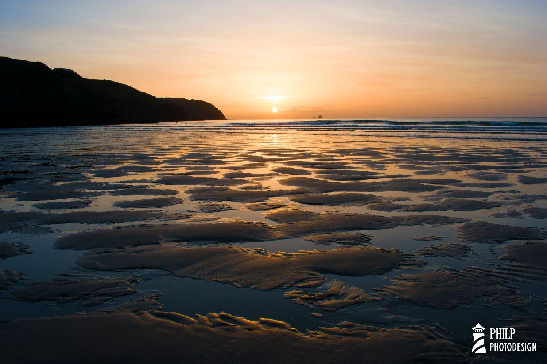 Sandbank Pools Perranporth Cornwall England Cornish Etsy Landscape Photography Beach Photos Sunset Photos
