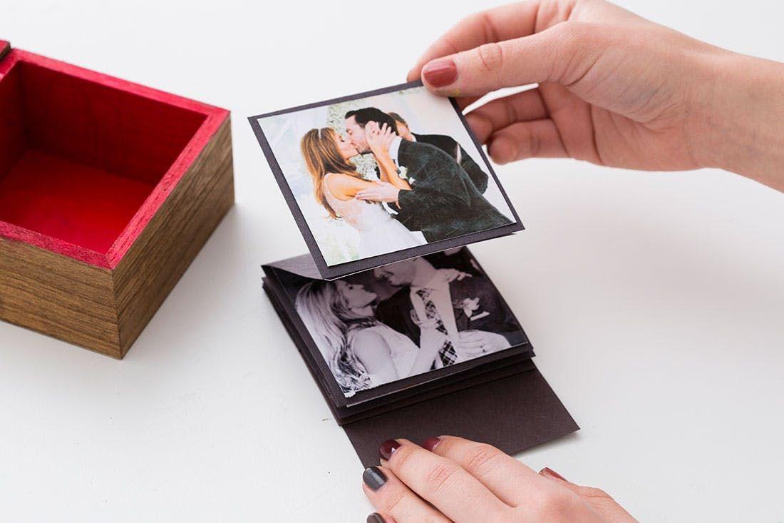 Как сделать подарок из фотографий своими руками