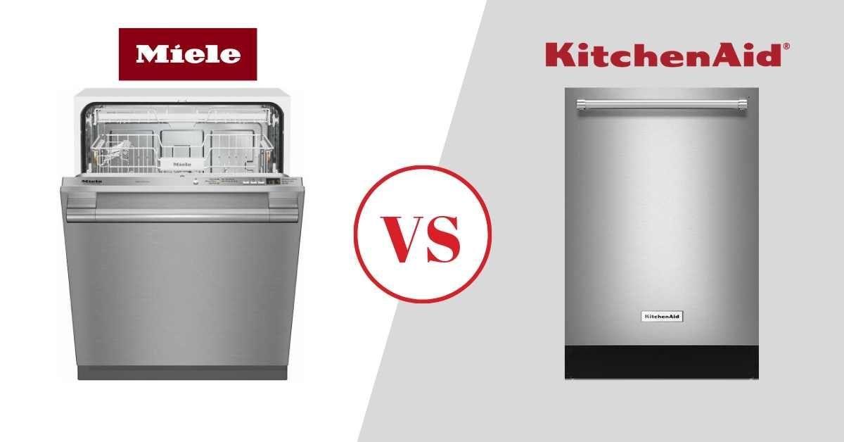 Miele vs KitchenAid Dishwashers Review (2020), Best Models