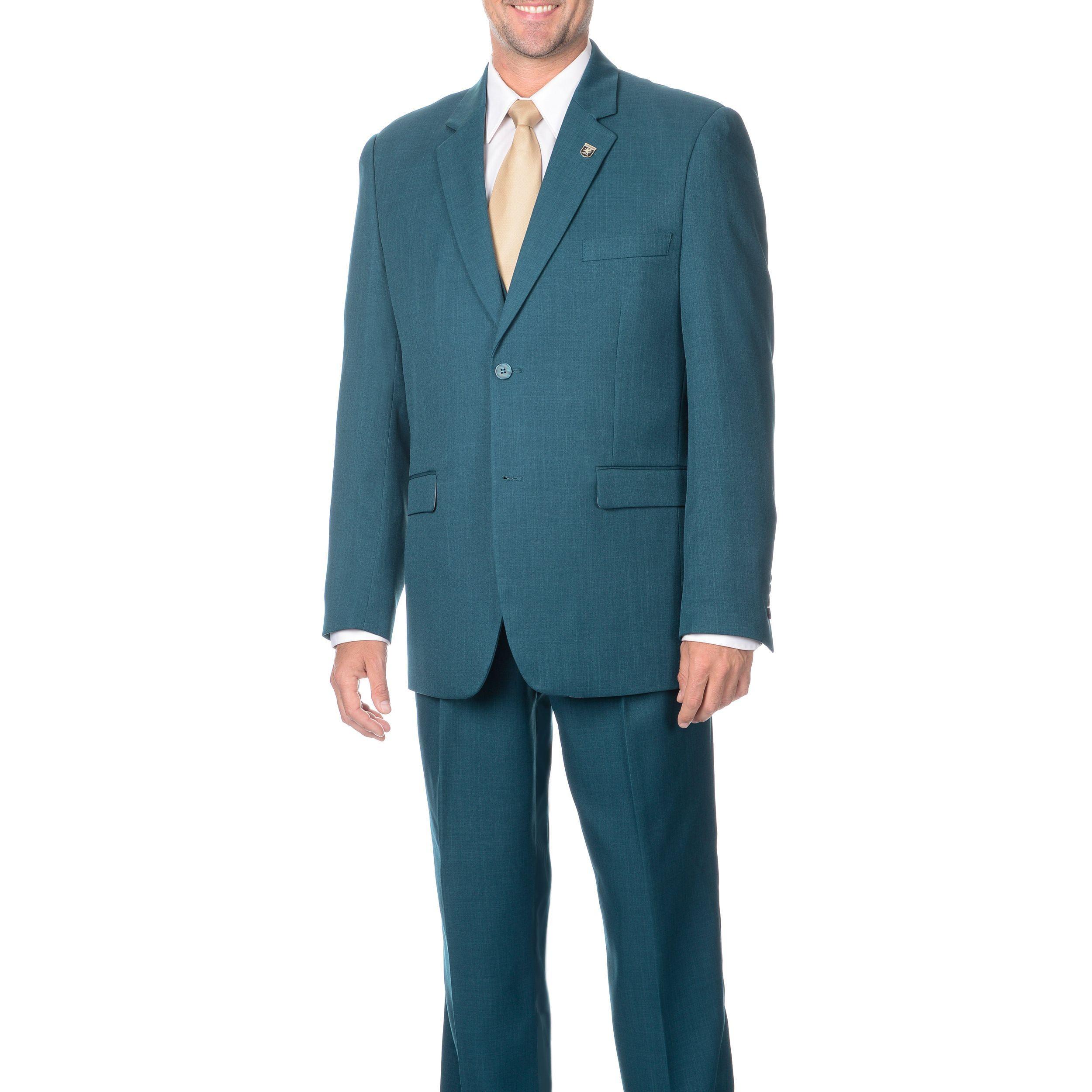 Stacy Adams Men\'s Double Vent 3-piece Vested Suit | A\'s OC- Zorak ...