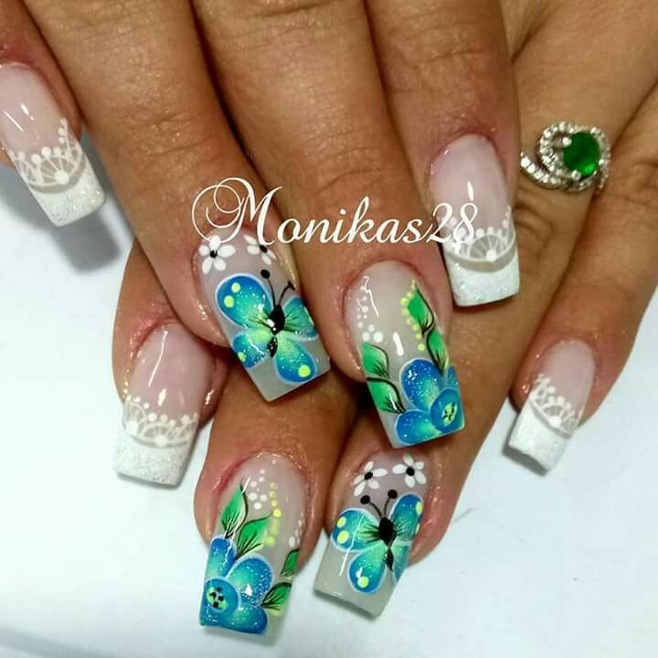 Pin by Kasia on Extravagant nails | Pinterest | Manicure, Nail nail ...