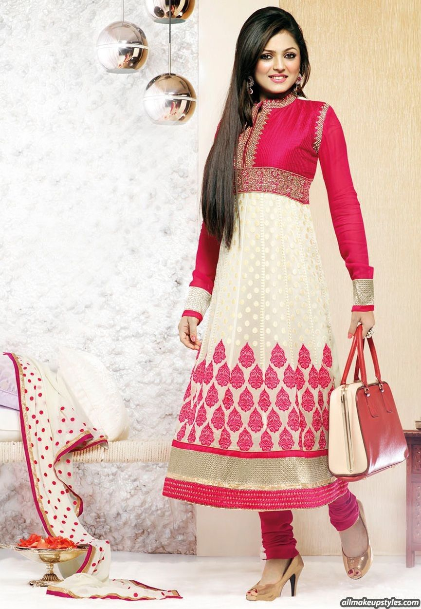 Beautiful and simple #SalwarKameez ❤ | Salwar Kameez designs ...