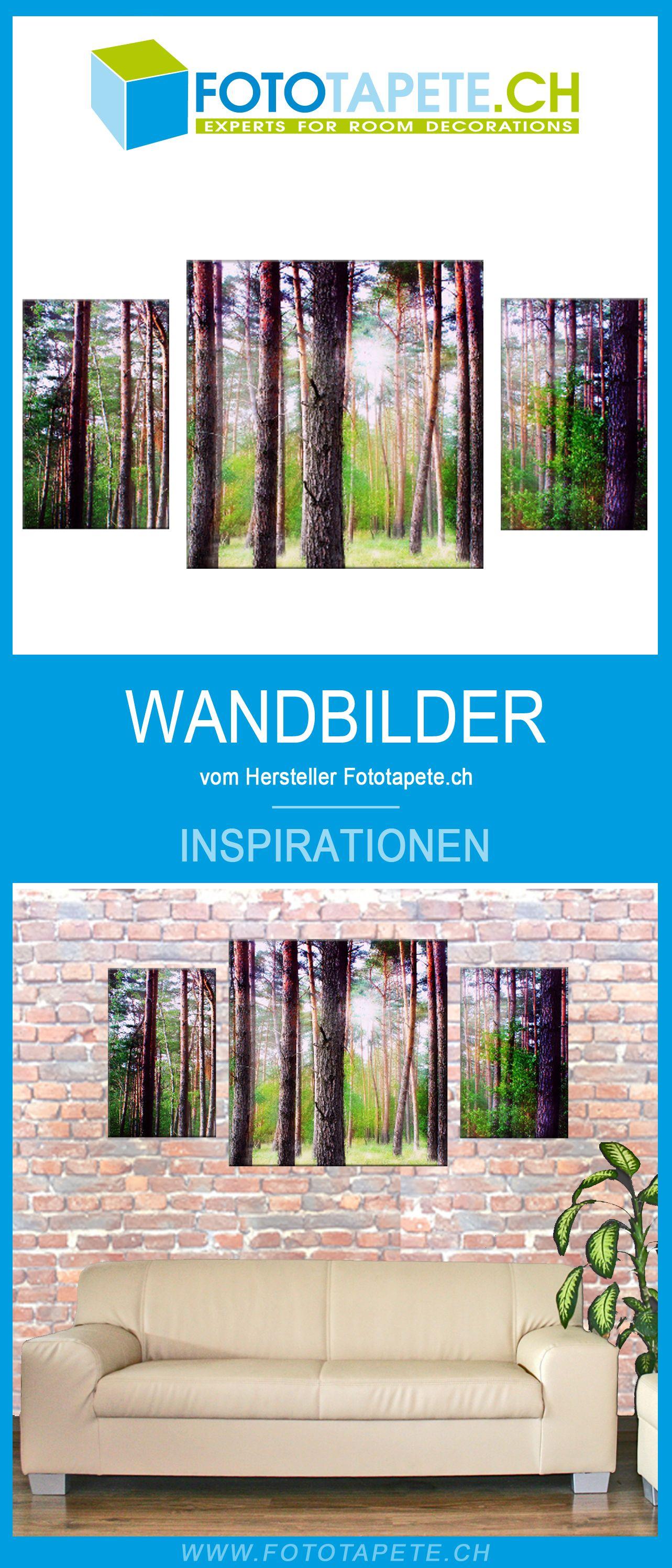 wald wandbild das mehrteilige leinwandbild fur dein zuhause wandgestaltung furs wohnzimmer wandbilder waldbilder bilder leinwand groß bestellen 40x60