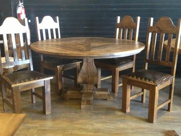 Customer Builds Traditional Dining Tables Houston Rustic