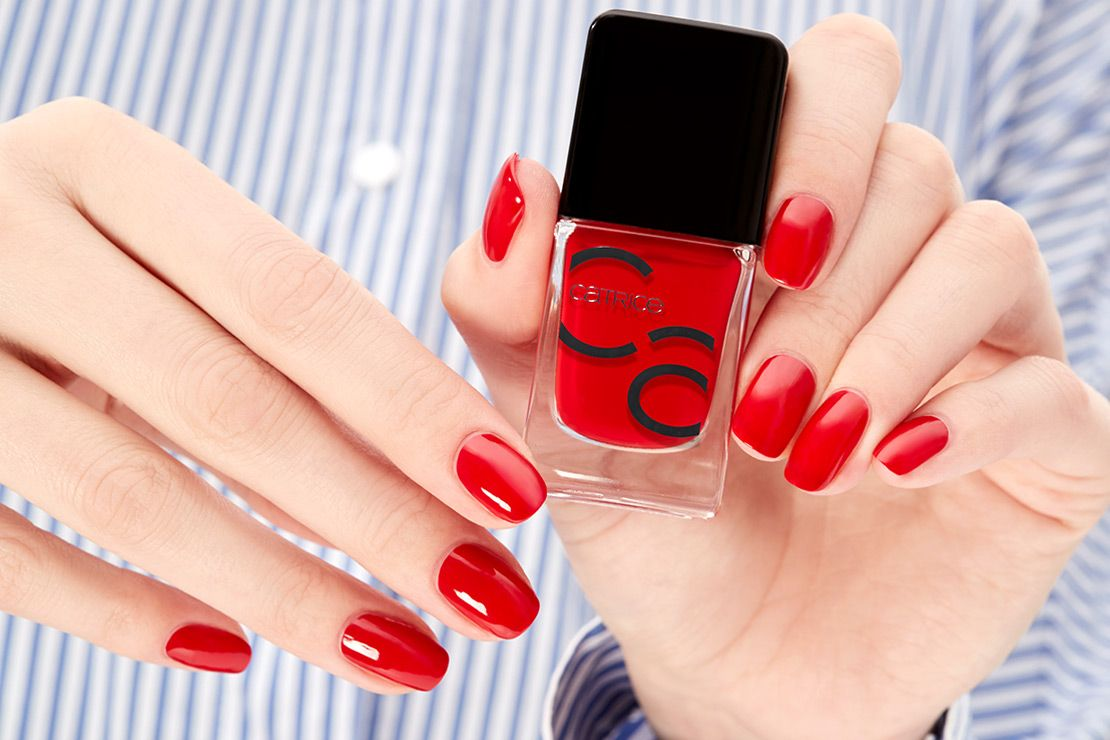 Catrice Iconails Gel Lacquer 05 It S All About That Red