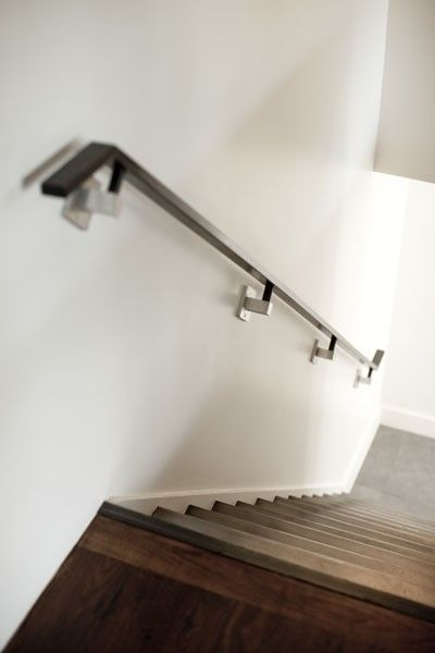 Handrail Railing Design Stairs Design Staircase Handrail | Modern Stair Handrail Wall Mounted