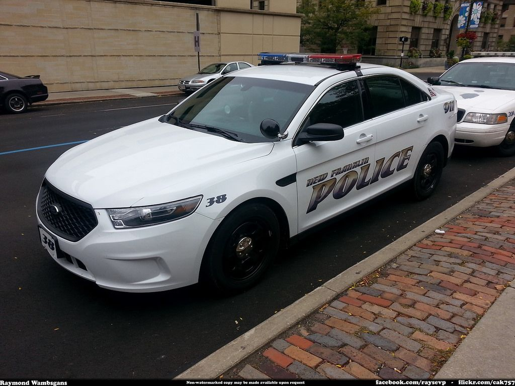 New Franklin Police Ford Taurus Police Cars Police Truck Police