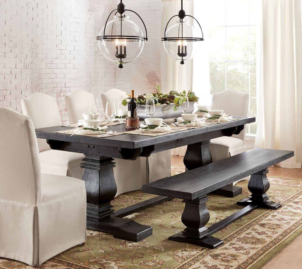 extendable farmhouse table canada