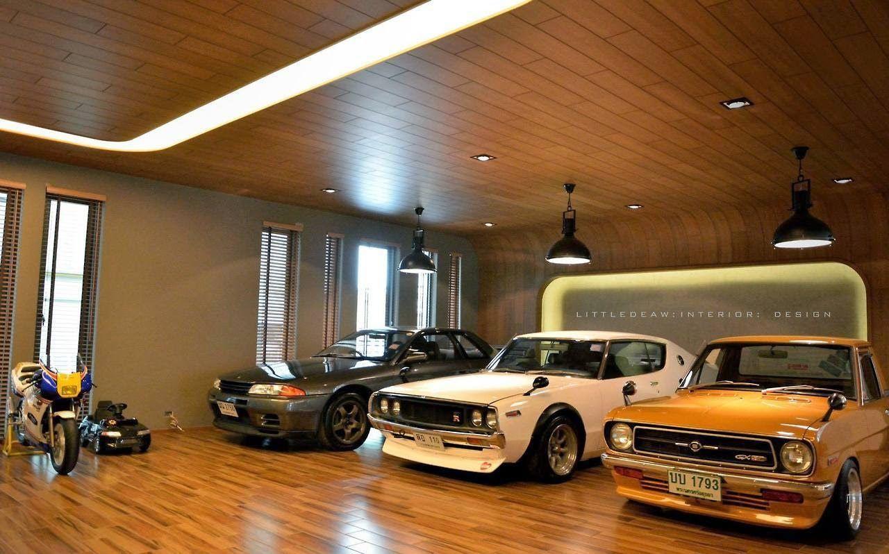 Retro House Bangna Car Wheels Luxury Garage Garage Design