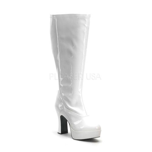 b56b56165e1 Looking for the perfect White Patent Chunky Heel Plus Size Boots  Please  click and view this most popular White Patent Chunky Heel Plus Size Boots.