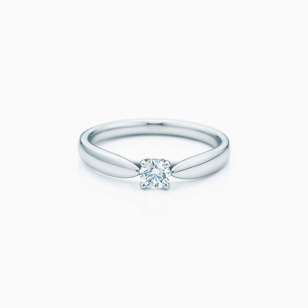 Tiffany Somerset Narrow Ring In 18k Gold With Diamonds Womens Engagement Rings Tiffany Wedding Rings Vintage Engagement Rings