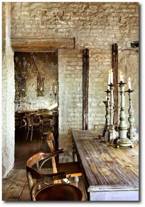 40 Rustic Living Room Ideas To Fashion Your Revamp Around: Italian Countryside Decorating Ideas