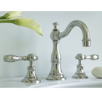 Photo of Newport Brass 1770/10B Oil Rubbed Bronze Victoria 1.2 GPM Widespread Bathroom Faucet – Includes Pop-Up Drain