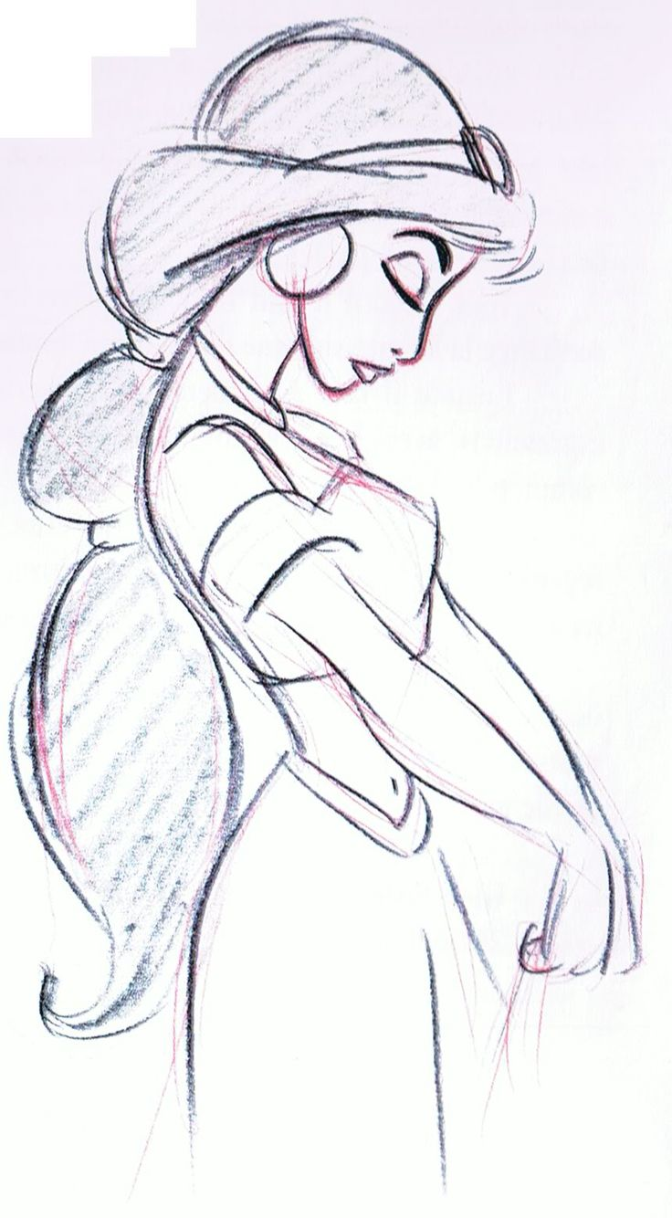 Www mickeytravels com jasmine drawing disney princess sketches disney drawings sketches