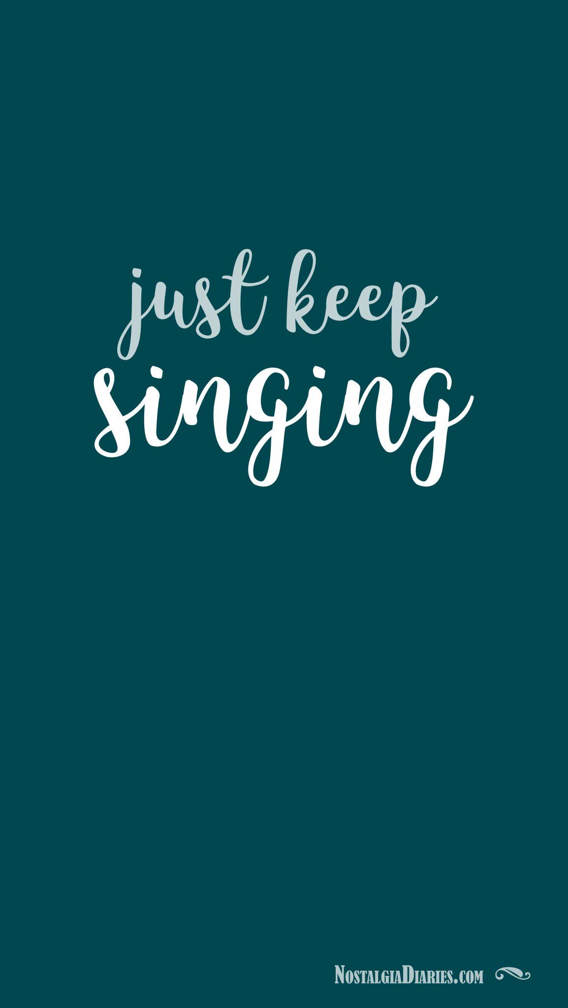 Singing Quotes Things We Love | Blog | Nostalgia Diaries | Singing quotes, Quotes  Singing Quotes