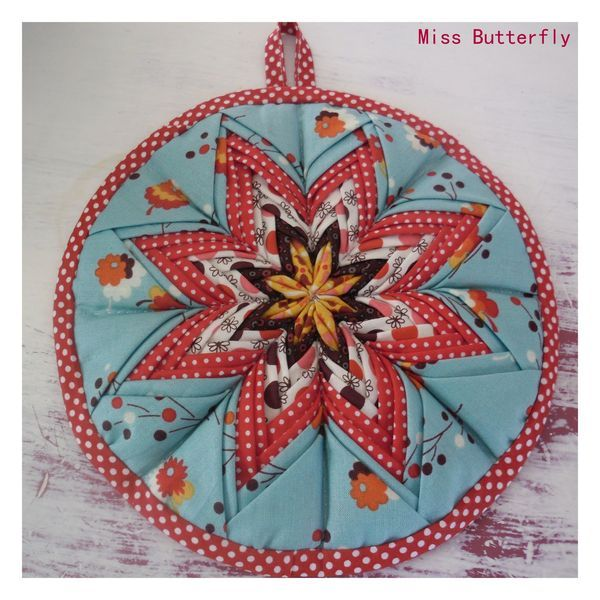beautiful star potholder