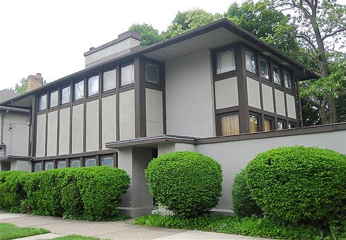 Thomas P Hardy House 1906 Prairie House Architecture House