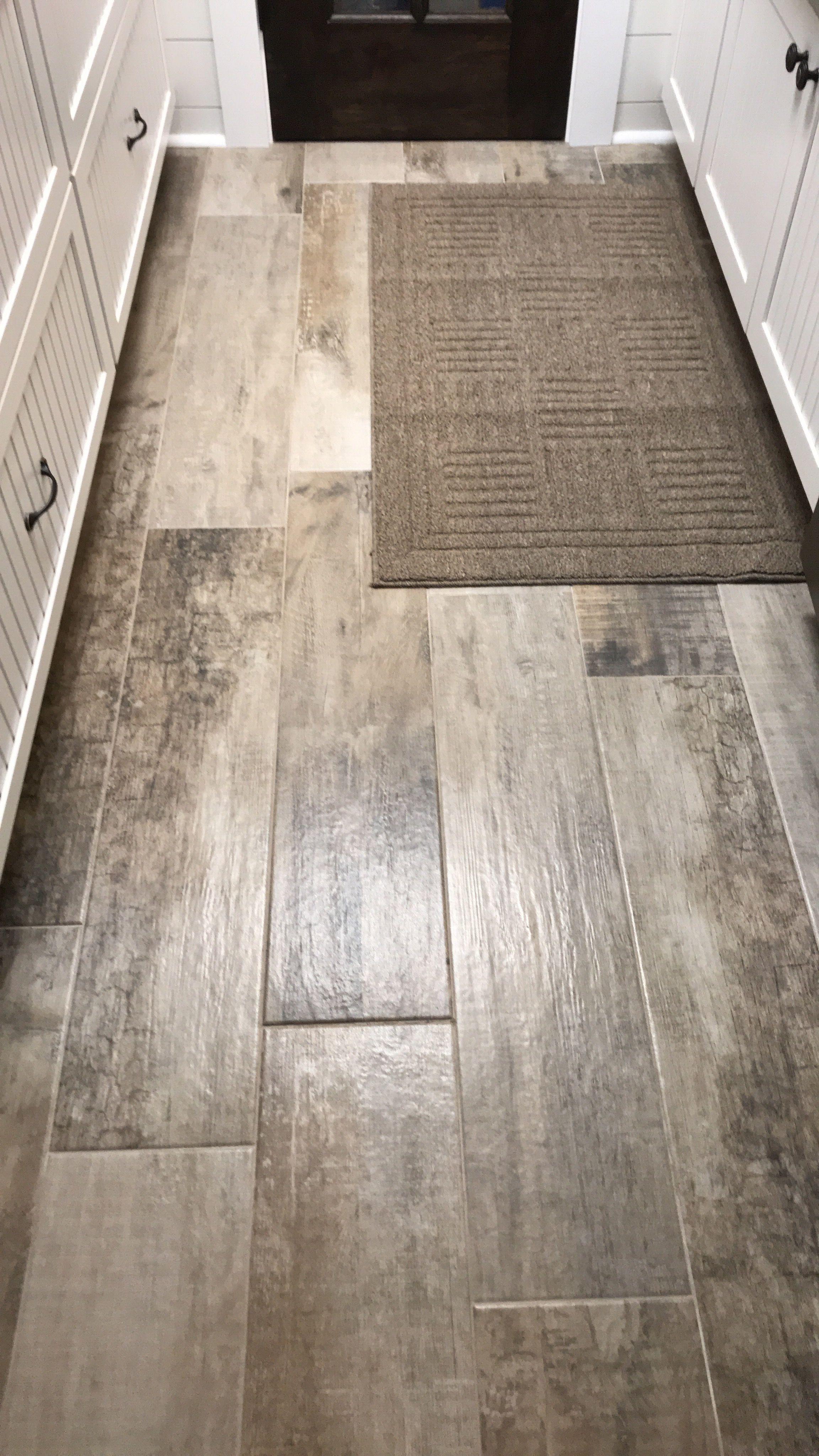 msi barnwood cognac 8 in x 36 in matte porcelain floor and wall tile 14 sq ft case nhdbarncog8x36 the home depot in 2021 wood look tile floor wood tile bathroom wood look tile