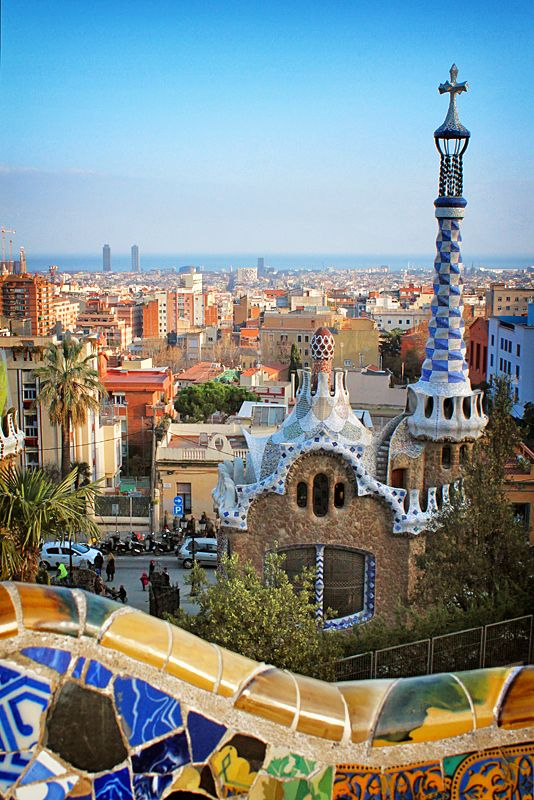 The View from Parc Guell by Bambi L. Dingman