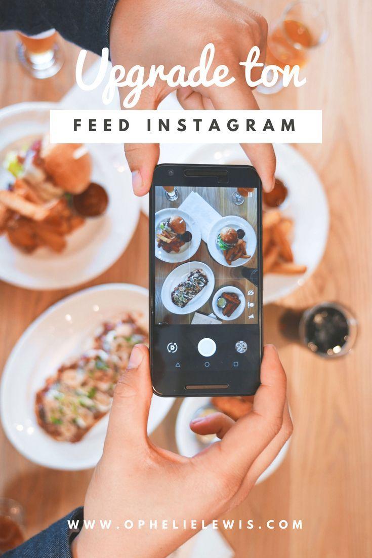 Upgrade ton feed Instagram Conseils instagram, Flux