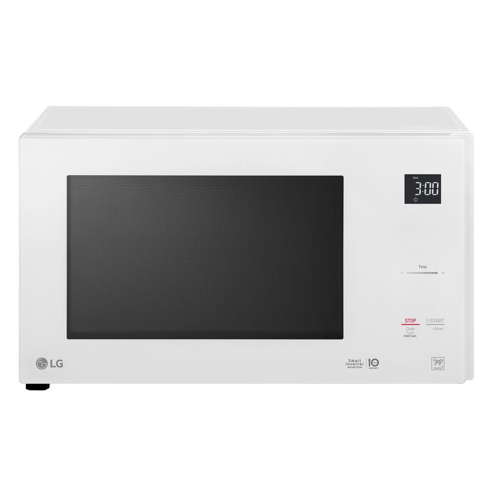 Lg Electronics 1 5 Cu Ft Countertop Microwave In White