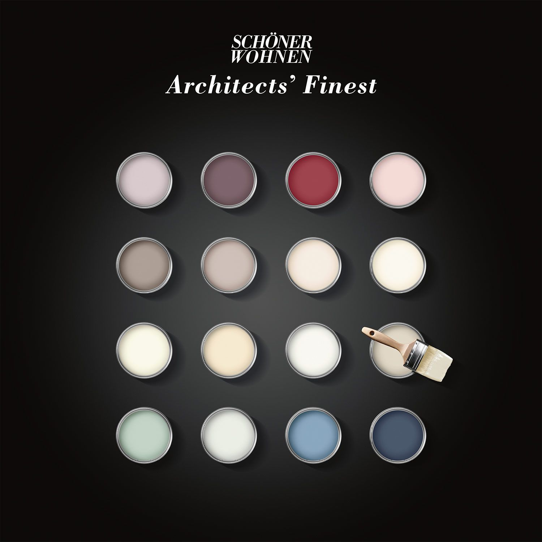 SCHÖNER WOHNEN Architects\' Finest - Premium-Wandfarbe mit samtmatter ...