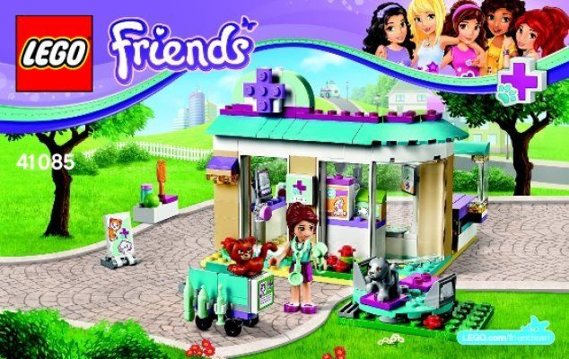 Notice Instructions De Montage Lego Friends 41085 La