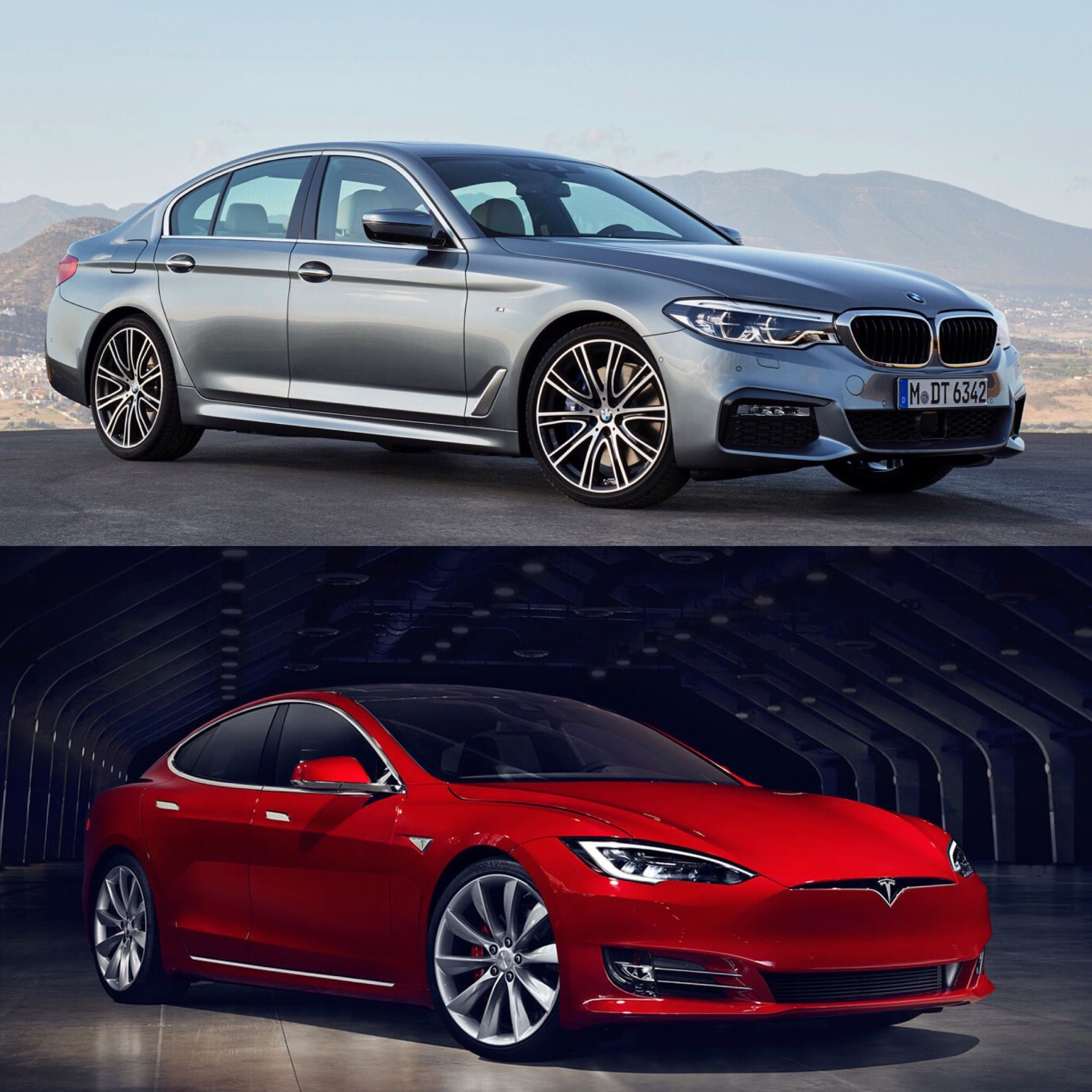 Now That The New BMW 5 Series Has Been Revealed, We Take A Look At How It  Compares To An Unusual Rival, The Tesla Model S.