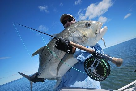Giant Trevally (GT) on fly - I've got to do this one day!