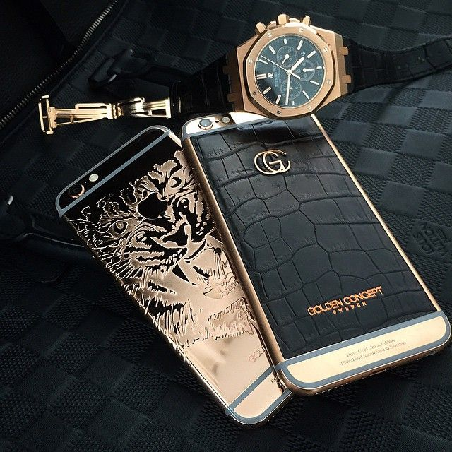 GOLDEN CONCEPT Croco Edition & Limited Tiger Edition in Rose Gold