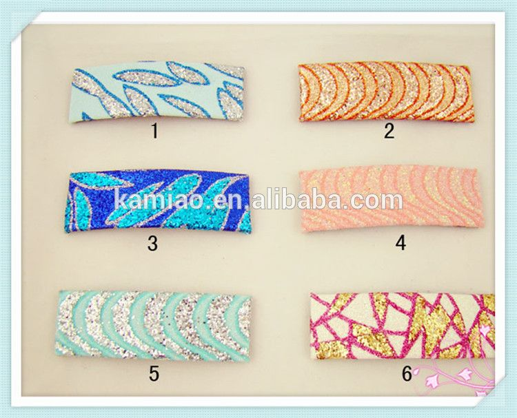 fashion elegant wholesale hair clips in hair extension for african american cute fabric hair pin