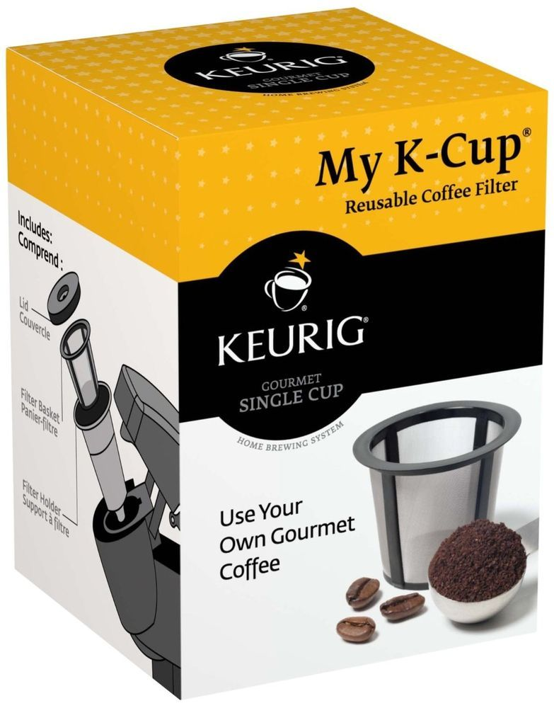 keurig refillable cup how to use