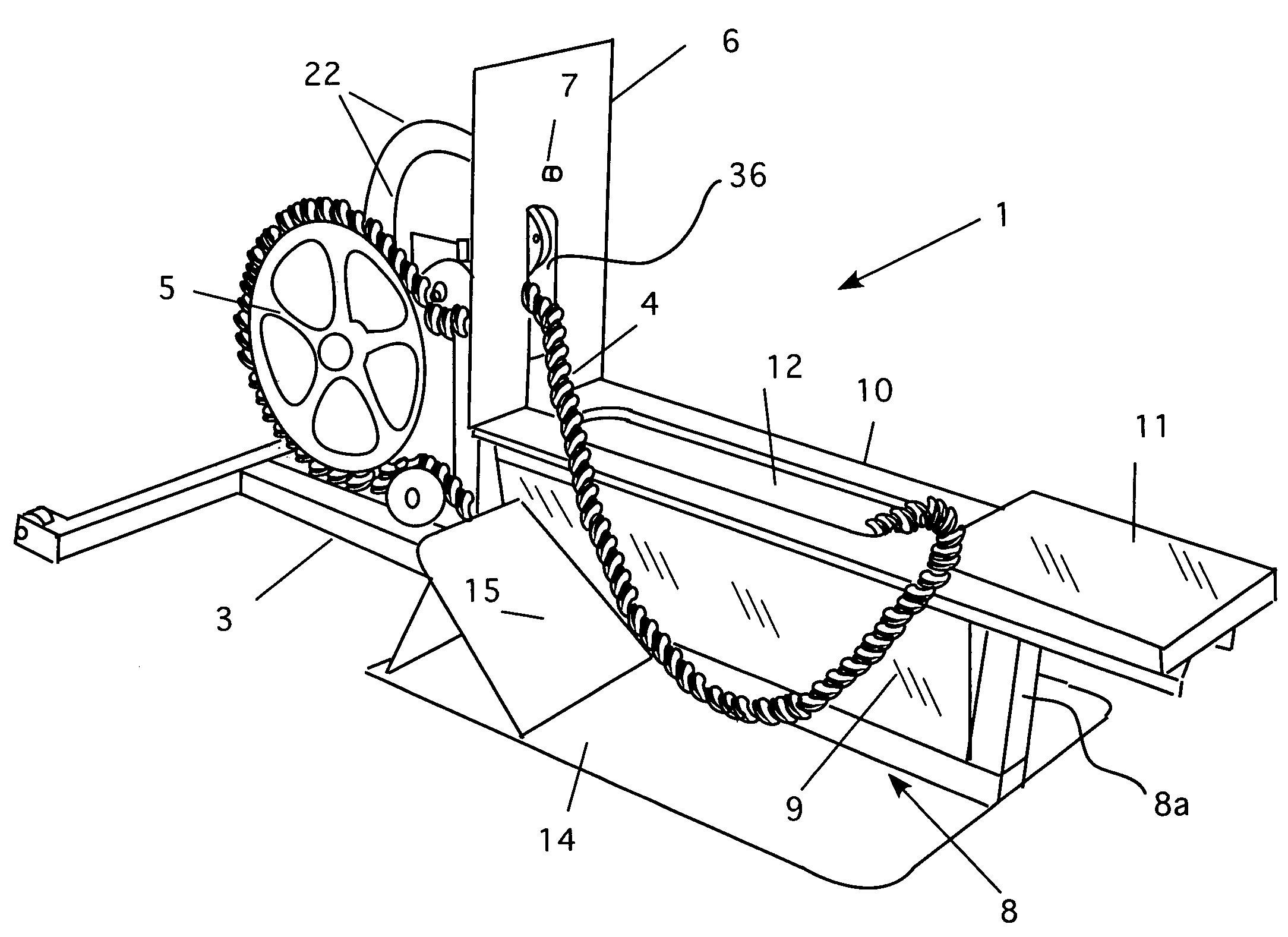 hight resolution of axios horizontal endless rope