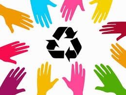 Recycle together for a better word