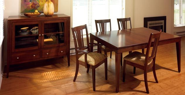 Amish Dining Room Furniture, Dining Tables & Chairs ...