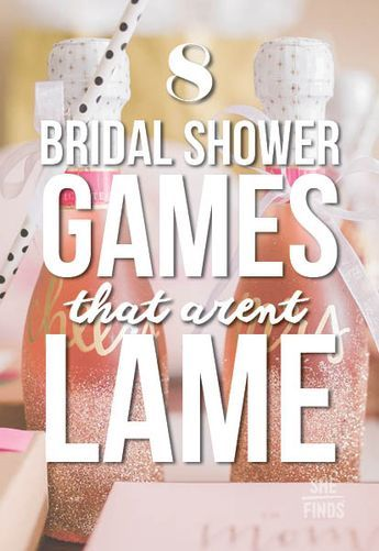 8 bridal shower games that arent lame