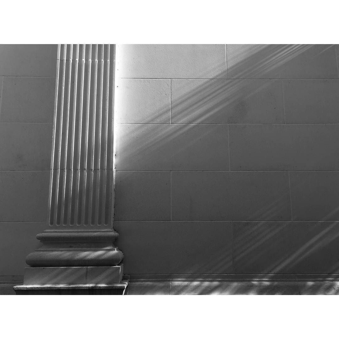 This was just a cool #shadow so I made a #photo of it.  #downtown #orlando #florida #streetphotography #blackandwhite #art #thecitybeautiful